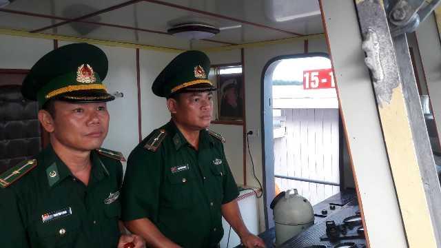 Người thuyền trưởng tận tụy với công việc